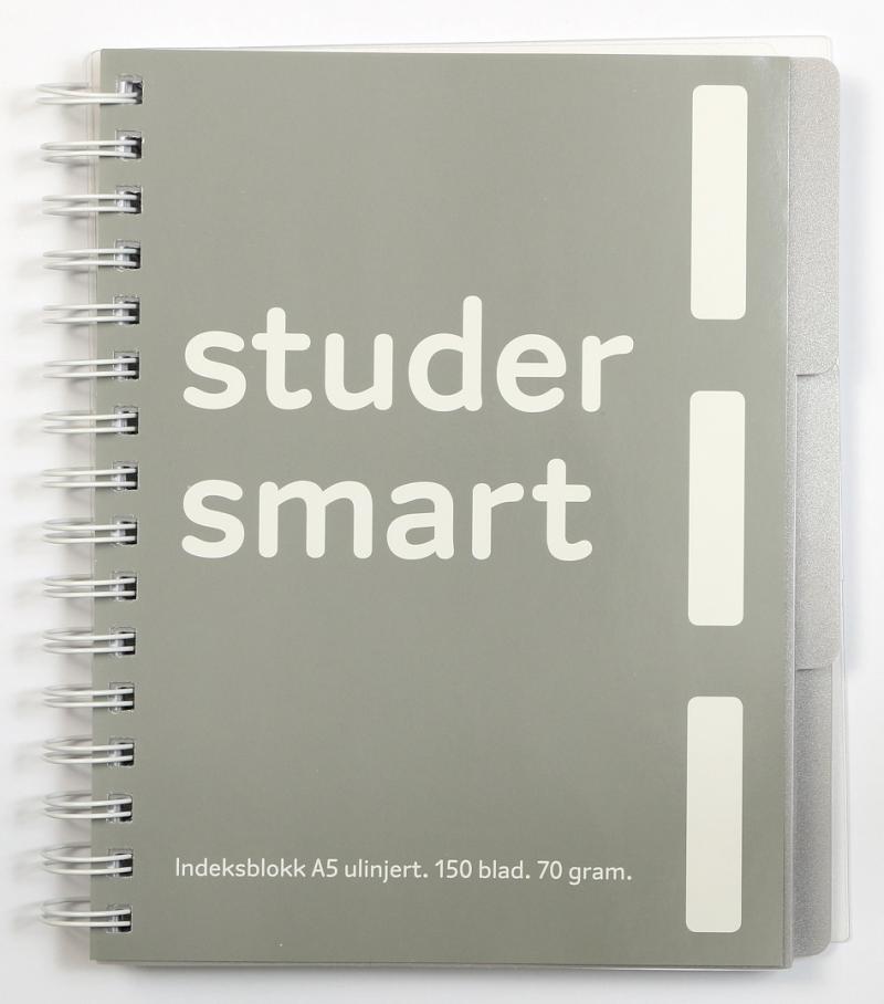 d9aa1f75 Notatbok - Studer smart A5, Ulinjert | Akademika.no