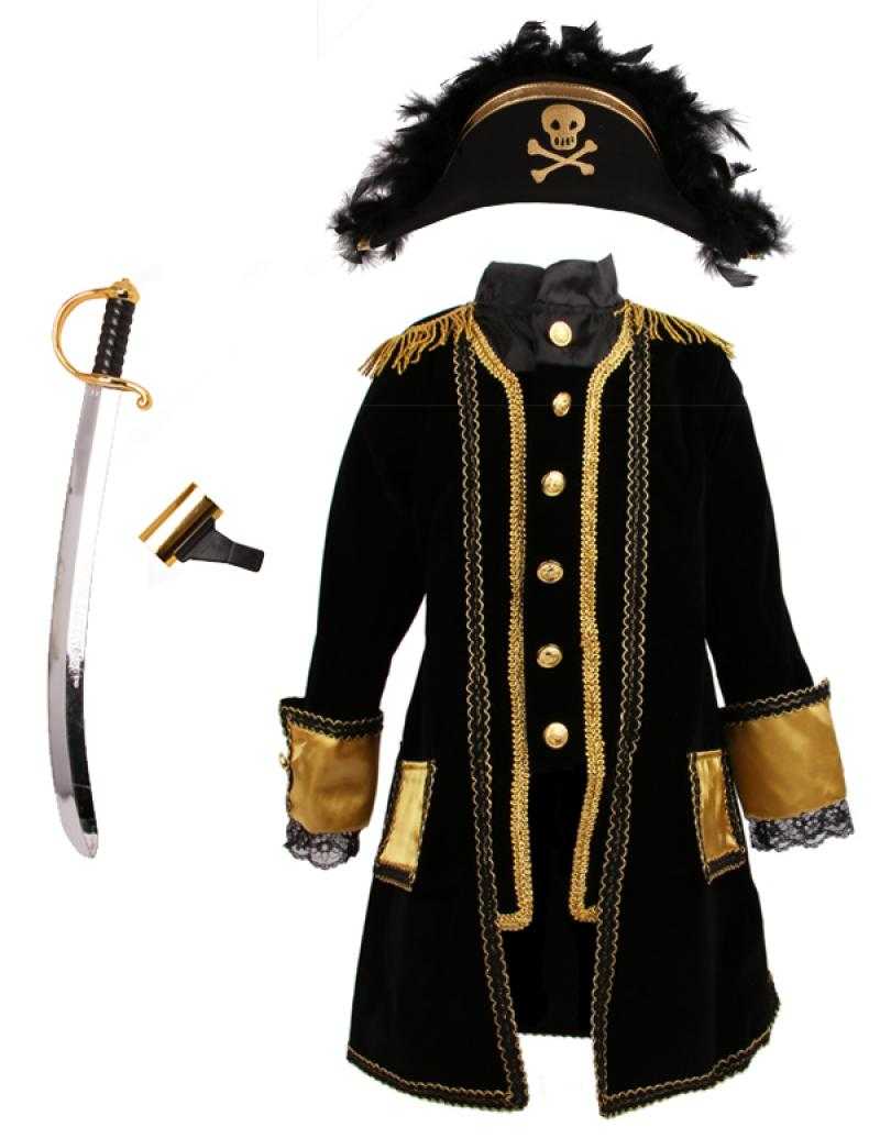 Modish Kaptein Sabeltann kostymepakke 4 år | Akademika.no SB-49